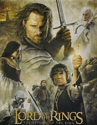 Poster Of The Lord of the Rings The Return of the King (2003) Full Movie Hindi Dubbed Free Download Watch Online At worldfree4u.com