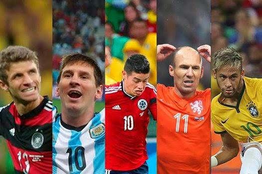 Messi eleito o melhor jogador do Mundial pela FIFA - Visão de Mercado 07d297a5bde11