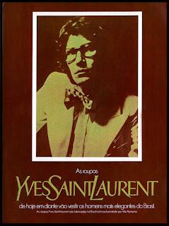 roupas Yves Saint Laurent;