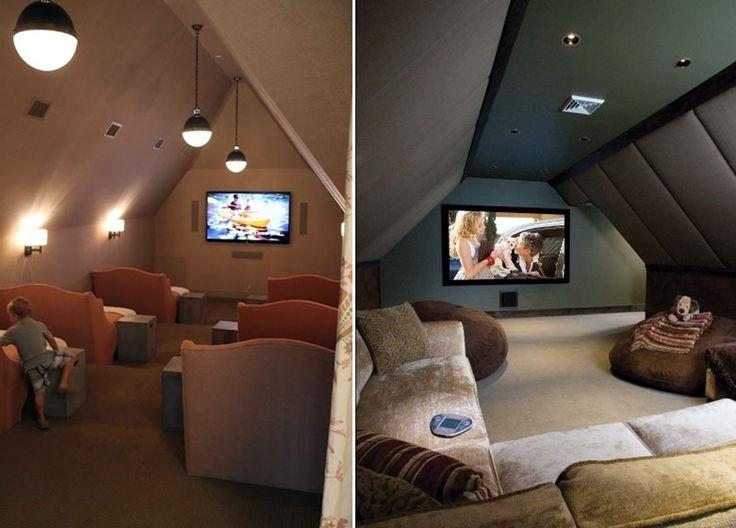 16 Simple, Elegant and Affordable Home Cinema Room Ideas