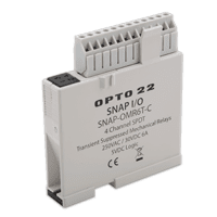 opto 22 new snap mechanical relay output has integrated. Black Bedroom Furniture Sets. Home Design Ideas