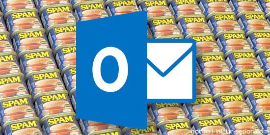 filtros de correo no deseado en Hotmail iniciar sesion