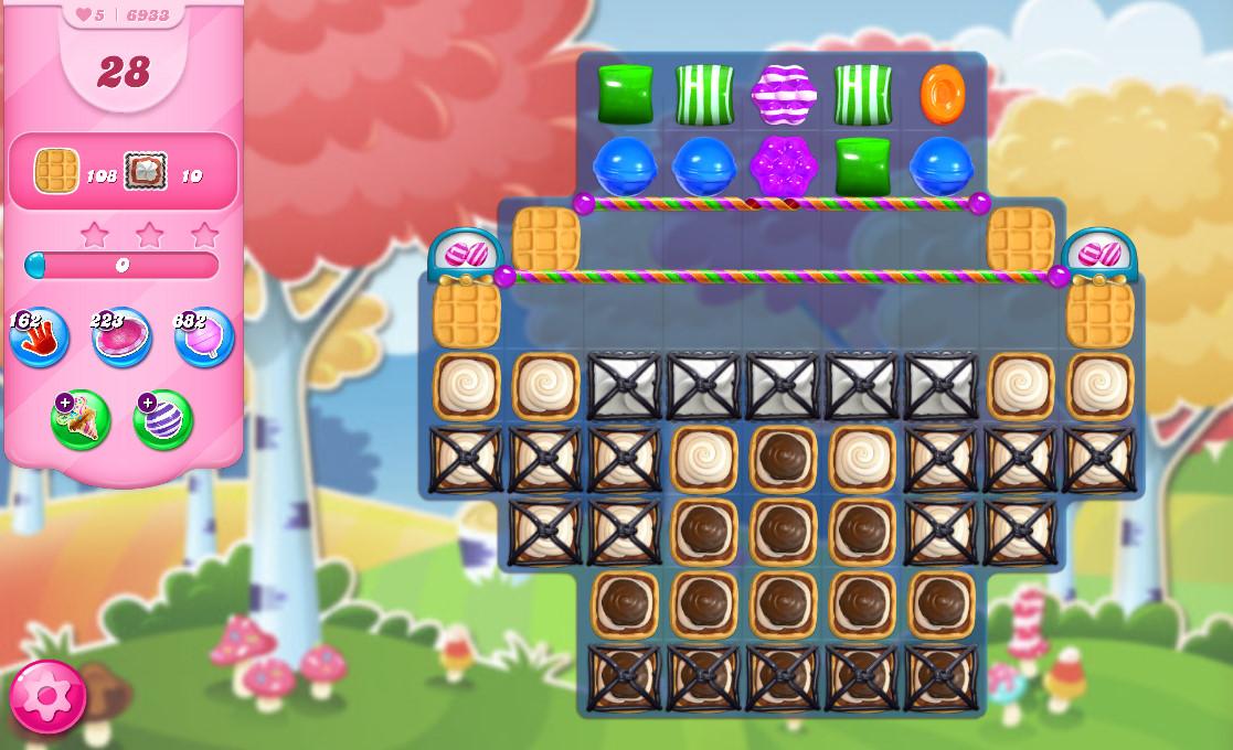 Candy Crush Saga level 6933