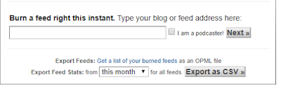 Membuat  RSS Feed di Blog.