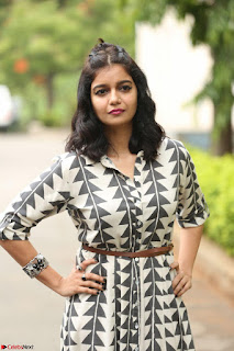Swathi Reddy Looks super cute at London Babulu theatrical trailer launch ~  Exclusive 052.JPG