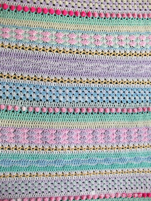 baby's, crochet,blanket,easy,fun,fantasy
