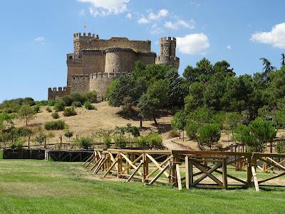 Exteriores Castillo Nuevo de Manzanares El Real