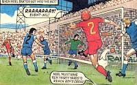 Noel Baxter nets Rovers' 8th goal in 1979