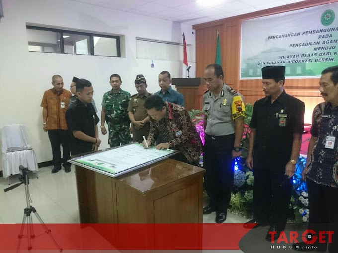 Pencanangan Zona Integritas Menuju Wilayah Bebas dari Korupsi (WBK) dan Wilayah Birokrasi Bersih Melayani (WBBM) di Pengadilan Agama Jepara