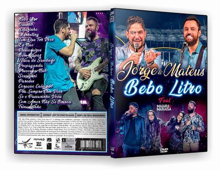 CAPA DVD – Jorge & Mateus – Bebo Litro – ISO