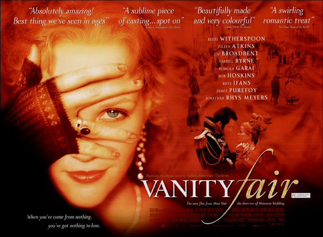 comparison of william thackerays novel vanity fair and mira nairs movie adaptation of the novel Stephen holden reviews movie vanity fair, directed by mira nair and starring reese witherspoon photos (m)  mira nair's bland but color-drenched adaptation of william makepeace thackeray's 1848.