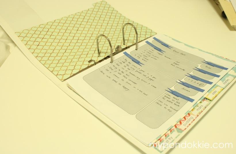 homemade cookbooks template - my pondokkie diy recipe book with free pdf download