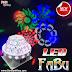 Đèn LED Fabu giá rẻ tạo các tia LED phủ rộng và quét gobo trung tâm.