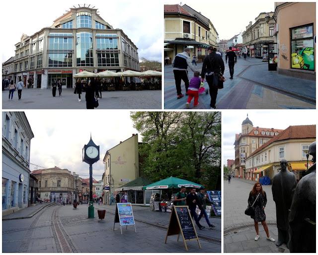 Scenes in Tuzla Stari Grad (Old Town), Bosnia & Herzegovina