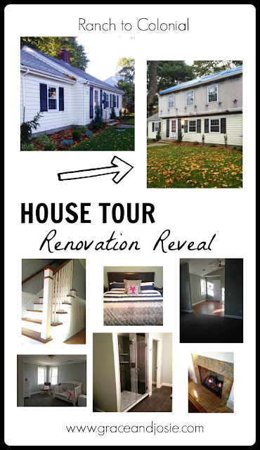 Ranch to Colonial Renovation House Tour