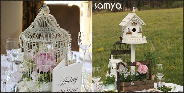 semy th me oiseau pour un mariage original. Black Bedroom Furniture Sets. Home Design Ideas