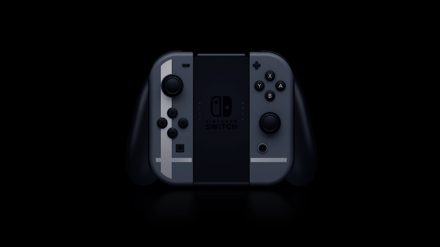 Super Smash Bros. Ultimate special Joy-Con controllers logo