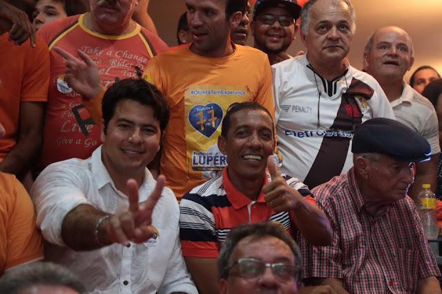 Professor Lupércio é eleito prefeito de Olinda