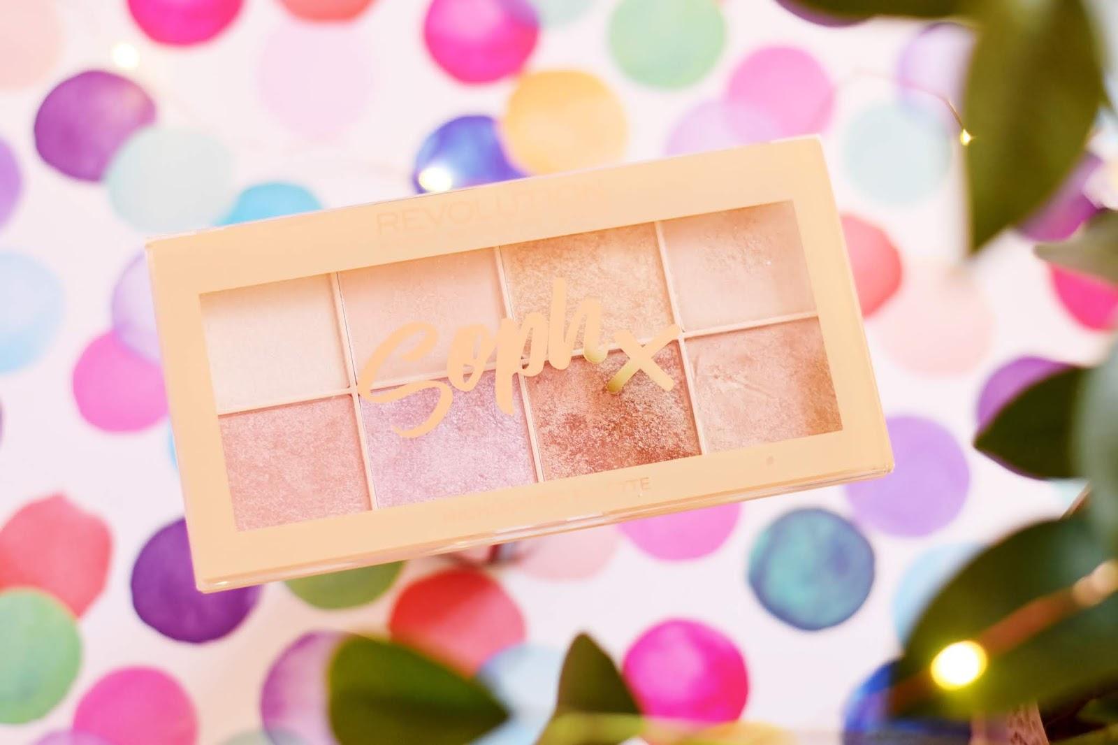 makeup revolution soph x paleta rozswietlaczy recenzja
