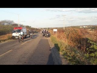 Cachorro causa acidente com motociclista no interior da Paraíba