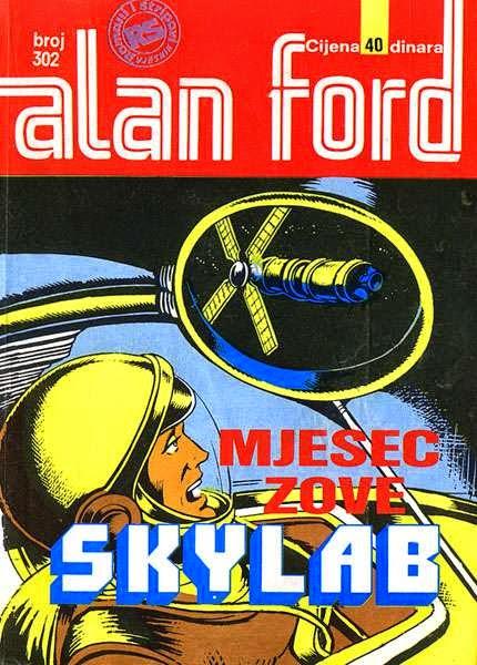 Mjesec zove Skylab - Alan Ford