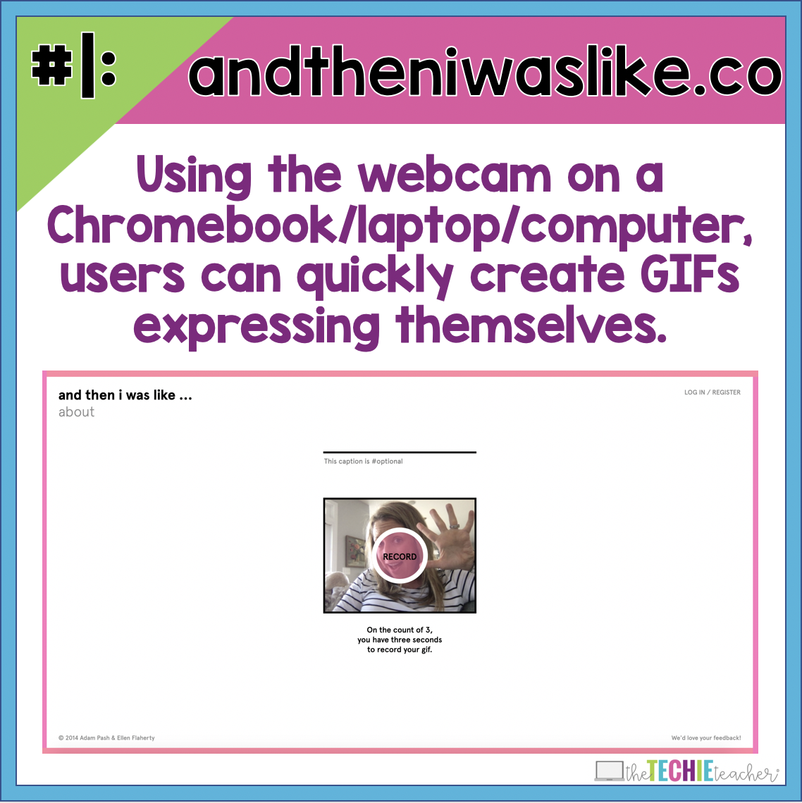 My Favorite 10 Apps & Websites for Creating Animated GIFs for the Classroom. Teachers and students can create animations, videos, images and more that can be turned into animated GIFs for their class projects. Also included in this post are practical academic applications for making GIFs in the classroom.