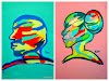 Modern Abstract Art Silhouettes to view  |  Miabo  Enyadike