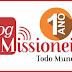 Hoje comemoramos o aniversário de 1 ano do Blog Missioneiro
