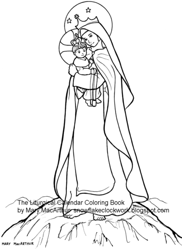 Snowflake Clockwork: A New (in a sense) Coloring Book and