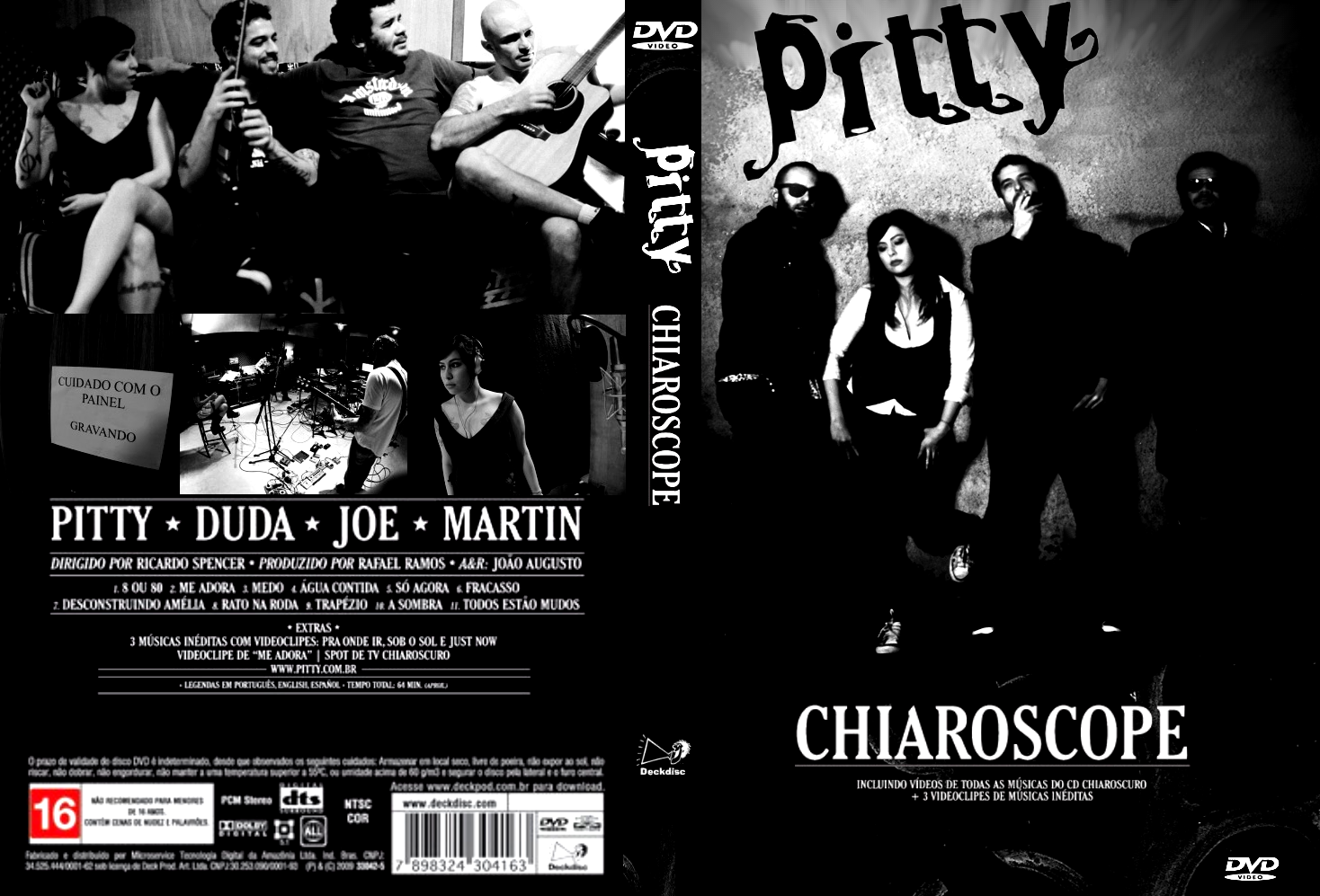 DE PITTY GRATIS CHIAROSCURO BAIXAR CD