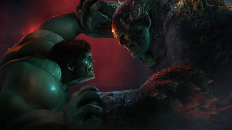 Marvels Avengers Hulk Vs Abomination 4k Wallpaper 3309