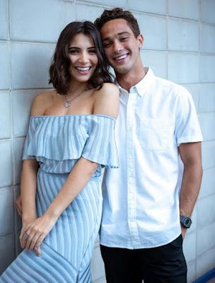 Rayssa Bratillieri e André Luiz Frambach estão no elenco de 'Éramos Seis' — Foto: Fabiano Battaglin/Gshow