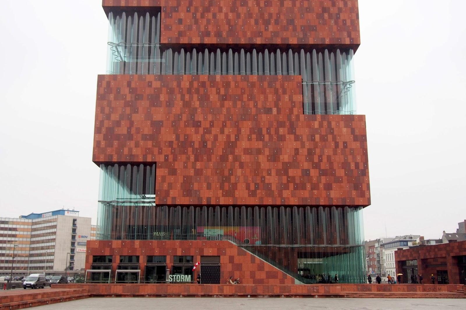 Antwerp 2013 The Museum Aan De Stroom Mas