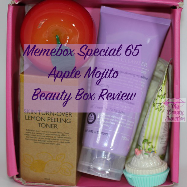 Memebox Apple Mojito Special 65 Review, Unboxing