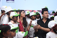 Shriya Saran and Meenakshi Dixit Pos at Quaker Feed A Child Campaign  0037.jpg