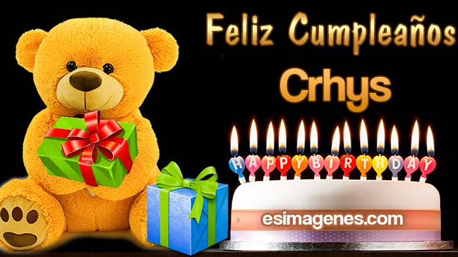 Feliz Cumpleaños Crhys