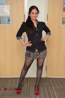 Telugu Actress Priyanka Pallavi Stills in Micro Mini Skirt at Nenosthaa Movie Song Launch at Radio City  0072.JPG