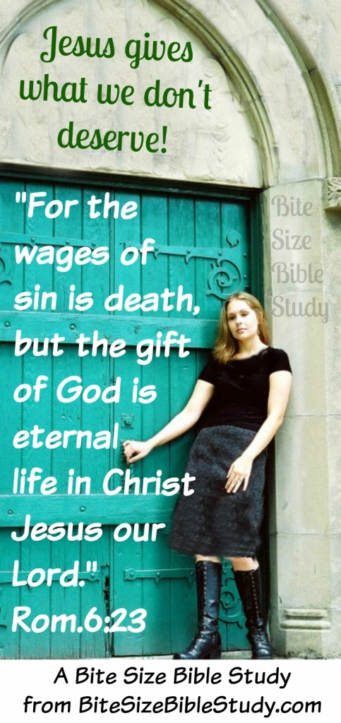 Jesus gives us what we don't deserve-eternal life, sense of entitlement not Christian