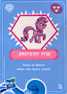 My Little Pony Amethyst Star Blind Bag Cards