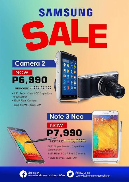 Aerophone Cebu Samsung Promo