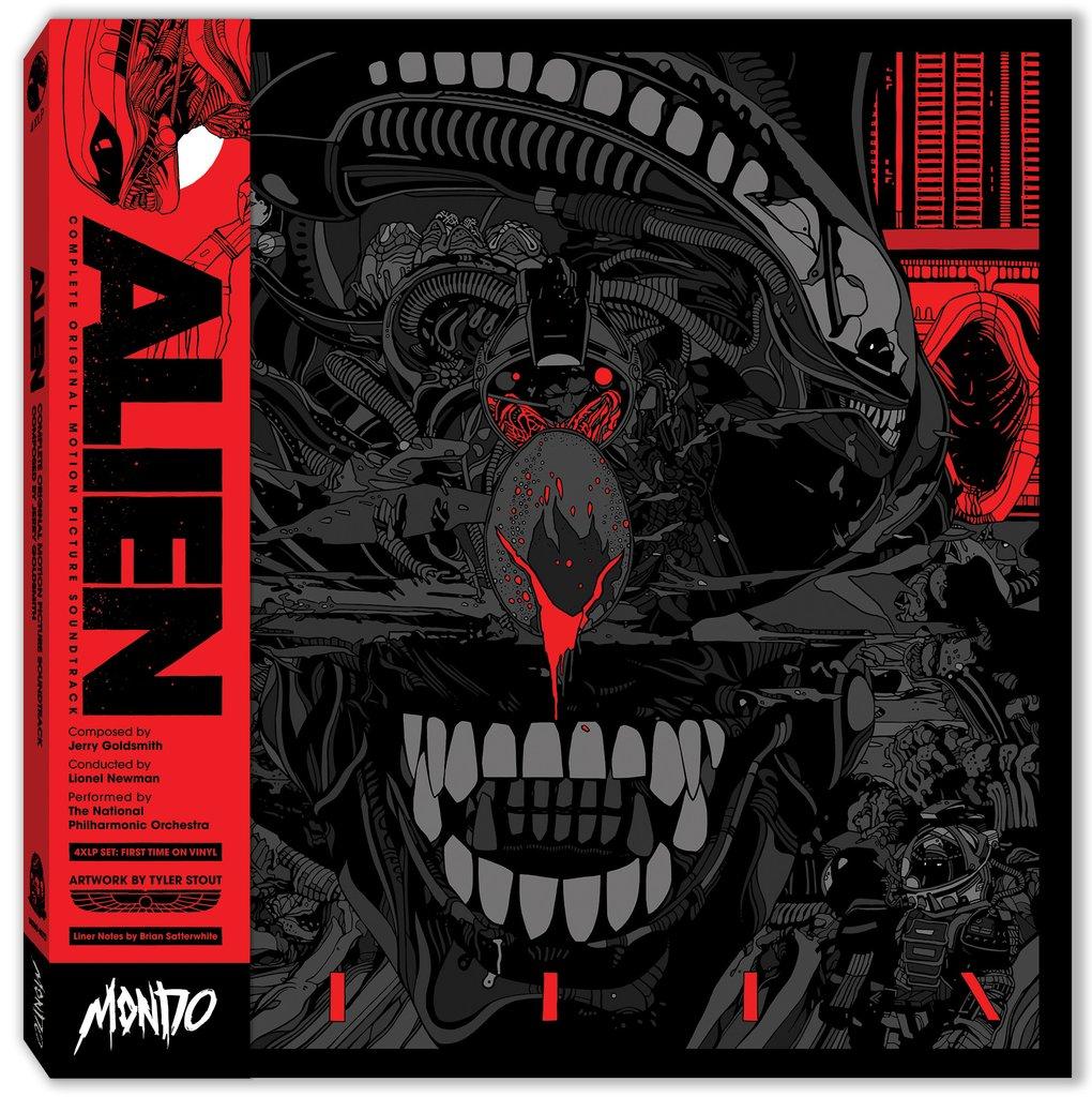Jimsmash Mondo Alien 4xlp Vinyl Soundtrack