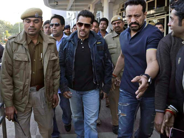 Blackbuck Died Of Natural Causes - Salman Khan