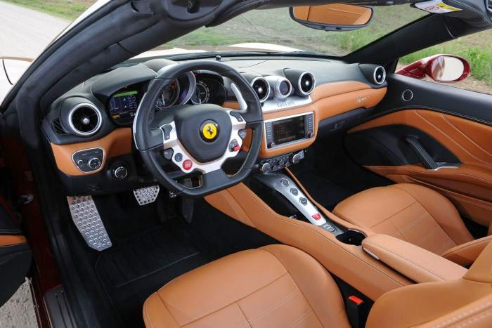 Interior del Ferrari California T