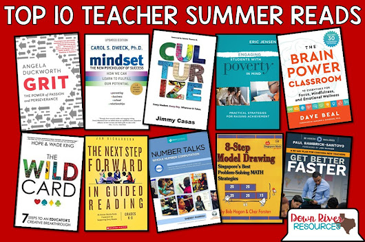 The Top 10 Books to Re-energize Teachers This Summer