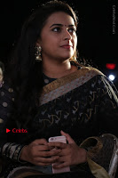 Actress Sri Divya Latest Pos in Black Saree at Sangili Bungili Kathava Thora Tamil Movie Audio Launch  0012.jpg