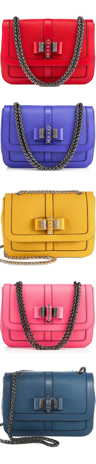Sweet Charity bow detail Christian Louboutin bags