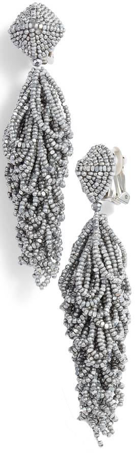 SACHIN & BABI NOIR LULUS EARRINGS