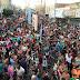 """""""Dindin de Cajá""""  arrasta uma verdadeira multidão pelas Ruas de Cajazeiras"""