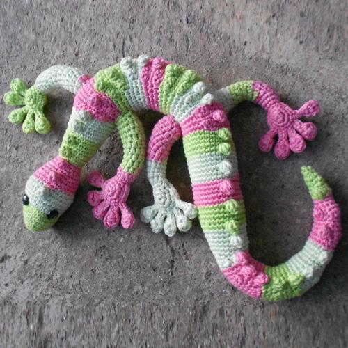 Gecko Frecko - Free Pattern