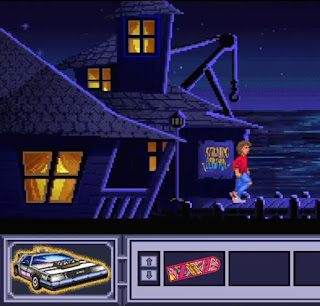 Aventura gráfica Back to the Future Part III - Timeline of Monkey Island